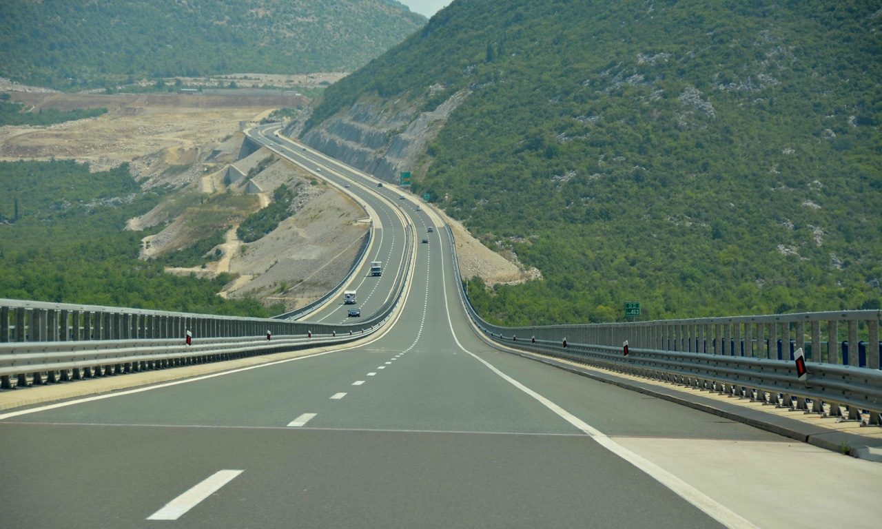A1 highway in Croatia
