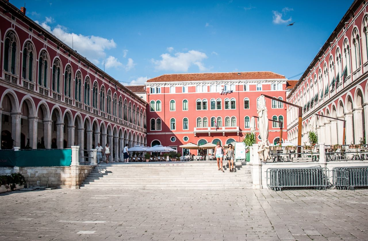 Prokurative - Square of the Republic, Split